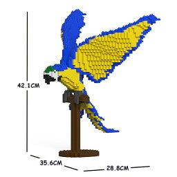 JEKCA ジェッカブロック ルリコンゴウインコ 02S Sculptor ST19MA04