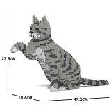 JEKCAジェッカブロックグレートラ猫(浅い色)ねこ04S-M03Sculptor