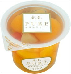 一度にたくさんのフルーツが楽しめるミックスゼリーです!たらみ PURE ミックスゼリー (1箱 6...