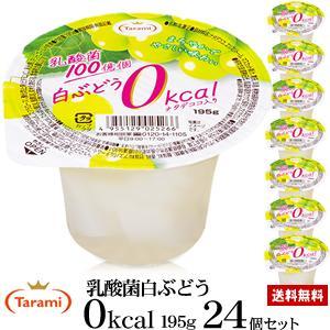4月26日(金)11:59まで 期間限定セール【23%OFF&】たらみ 乳酸菌白ぶどう 0kcal 195g 4箱(計24個)セット
