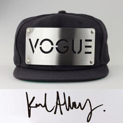 karl alley【カール アリー】,VOGUE メタルプレートCAP,キャップ メンズ,ロックファッション,パ...