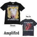 ロックtシャツ amplifiedアンプリフィード)The Rolling Stones(ローリングストーンズ)1973ヨーロピアンツアーTシャツ バンドTシャツ ロック ファッション ROCK パンクファッション ロックtシャツ アンプリファイド ロック系