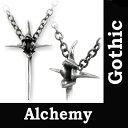 ALCHEMY GOTHIC アルケミーゴシック 釘を十字架モチーフにした、ネックレス!ロックパンクネッ...