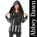 【Abbey Dawn】 アビードーン♪アヴリルラヴィーン,ROCKSTARパーカー、西山茉希さんが着用,ロッ...