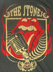 RollingStones(ローリング・ストーンズ)オフィシャル・ヴィンテージ・Tシャツrollingstonesユニオンジャック、ROLLINSTONES