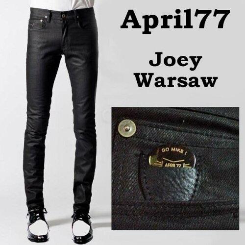 april77(エイプリル77)APRIL77 Joey Warsaw 程良い光沢 スキニー ジーンズ (スキニー デニム スキ...