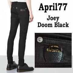 April77 joey doom black エイプリル77 ドーム スキニーパンツ ブラック ブラックジーンズ スキ...