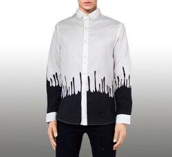 インパクトプリントシャツ