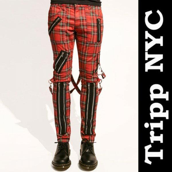 ボンテージパンツ TRIPP NYC(トリップニューヨーク) ジップデザイン ボンデージパ...