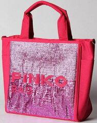 PINKO 【50%OFF】PINKO/ピンコ 【正規品】【50%OFF】スパンコール使い2Wayトートバッグ