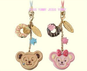 2012年♪スイートダッフィー♪ペアストラップ★【ディズニーシーで完売】Duffy(ダッフィー)&She...