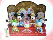 ディズニー ひな人形 ひな祭り ミッキー 桃の節句 インテリア リゾート