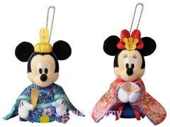 東京ディズニーリゾート限定♪【即納】 ディズニー ミッキー & ミニー 雛人形 ひな ひ...