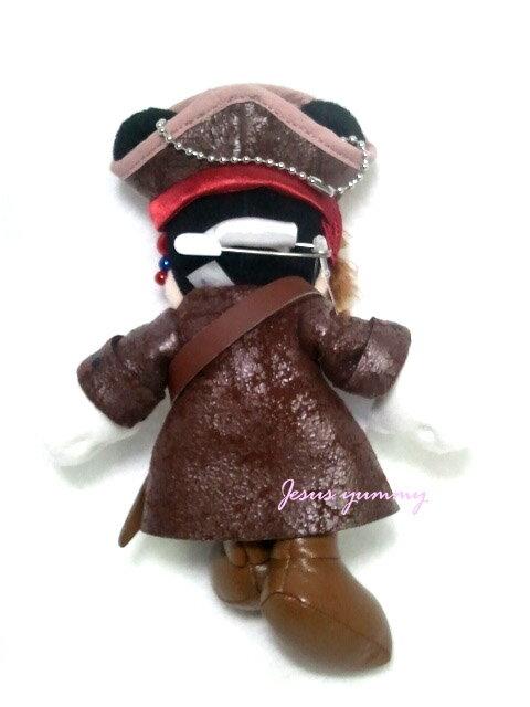【東京ディズニーランド限定】ミッキー・カリブの海賊コスチューム・バッジ・パイレーツオブ