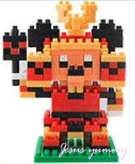 ミッキー 五月人形 兜 かぶと ナノブロック nano block ミッキーマウス お土産袋付き!【東京ディズニーリゾート限定】【Disney】