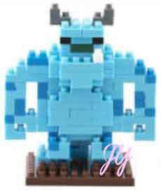 ブロック, セット  nano block Disney