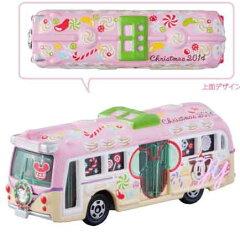 2014・クリスマス限定☆【先行予約】ミッキー・ミニー トミカ バス お菓子なクリスマスのか...