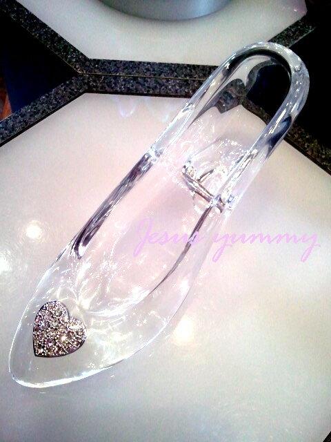 全商品オープニング価格シンデレラ ガラスの靴 ハート クリヤー