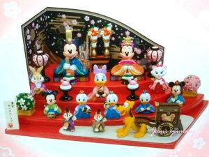 ディズニー 2016 ひな人形 (大) 雛人形 ひな祭り お雛さま ミッキー&ミニー、仲間たち…