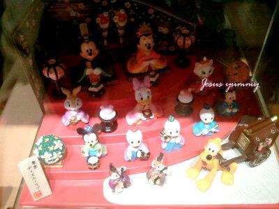 ディズニー2017ひな人形(大)雛人形ひな祭りお雛さまミッキー&ミニー、仲間たち桃の節句インテリアにも♪東京ディズニーリゾートお土産袋付き♪【Disney】