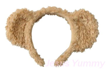 カチューシャ ダッフィー 2017 Duffy もこもこ くま みみ 耳 仮装 東京ディズニーシー限定 【DISNEY】