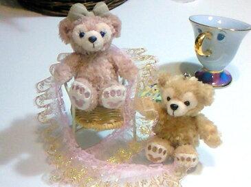【ディズニーシー限定】Duffy(ダッフィー) or ShellieMay(シェリーメイ)♪お座り携帯ストラップ★ふっくら可愛いお顔厳選!!お土産袋付き♪【Disney】
