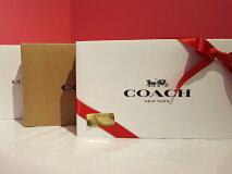【送料無料】F64118BLKコーチCOACHアウトレット二つ折り財布財布&アンドトリガースナップキーホルダーセット