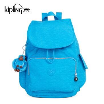 【送料無料】キプリング Kipling Ravier Summer Splash バックパック リュック ブルー レディース アウトレット BP3872 アウトレット