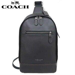 950107d9614575 【送料無料】F37598 QB/BK コーチ COACH ショルダーバッグ ブラック レザー パック ボディー