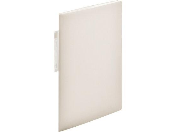 リヒトラブ/クリヤーブック オープンポケット A4 10ポケット ホワイト