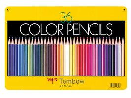 トンボ鉛筆/色鉛筆36色セット/CB-NQ36C
