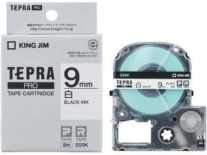 キングジム テプラ PRO用テープカートリッジ 白ラベル...