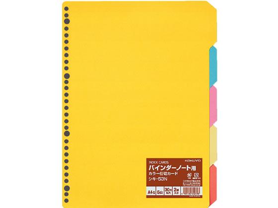 ファイル・バインダー, インデックス  A4 55 30 2