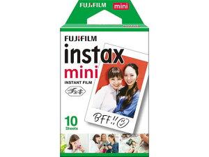 富士フイルム チェキ用フィルム instax mini [10枚入×1パッ...