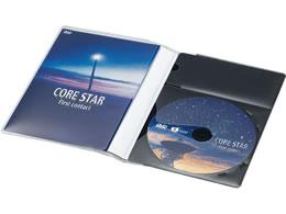 コクヨ/CD/DVD用ソフトケース トールサイズ 1枚収容 黒 50枚