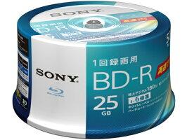 ソニー/1回録画ブルーレイディスク25GB6倍速50枚/50BNR1VJPP6