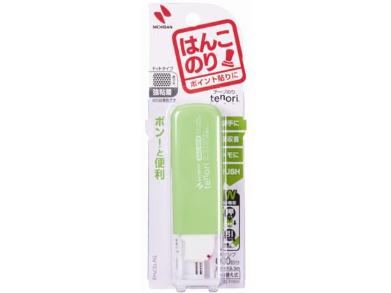 ニチバン/テープのりtenoriはんこのり グリーン/TN-TE7H3