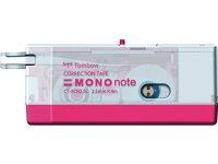 トンボ鉛筆/修正テープモノノートピンク2.5mm/CT-YCN2.5C81