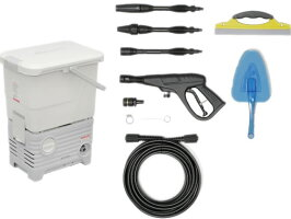 アイリスオーヤマ/タンク式高圧洗浄機洗車セット/SBT-512NS