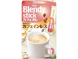 AGF/ブレンディ スティックカフェオレ やすらぎのカフェインレス 7本