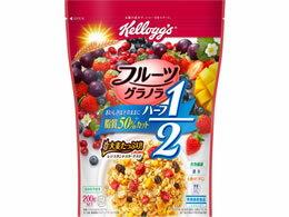 日本ケロッグ/フルーツグラノラハーフ200g袋