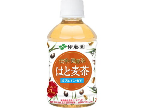 伊藤園/伝承の健康茶 はと麦茶 PET280ml/19645