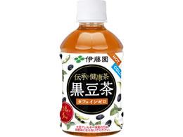 伊藤園/伝承の健康茶 黒豆茶 PET275ml