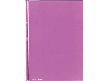 コクヨ/レールクリヤーホルダー〈カラーズ〉A4 20枚収納 パープル