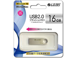 Lazos/USBフラッシュメモリ 16GB /L-U16