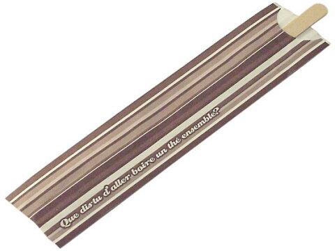 まるき/木製コーヒーマドラー 14cm 50本/01544