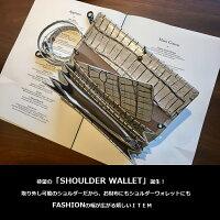 TRIBECAショルダーウォレット牛革日本製