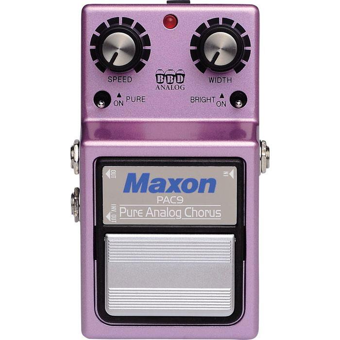 ギター用アクセサリー・パーツ, エフェクター Maxon Pure Analog Chorus PAC9
