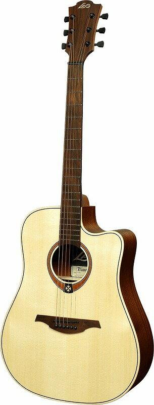 ギター, アコースティックギター LAG Guitars Tramontane T70DC
