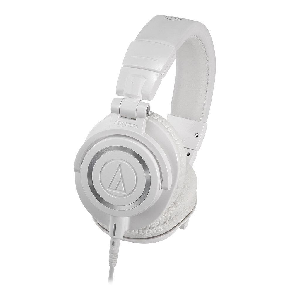 オーディオ, ヘッドホン・イヤホン audio-technica ATH-M50x WHProfessional monitor headphones